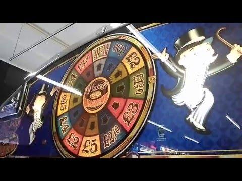 monopoly wheel of wealth fruit machine uk arcade 2016