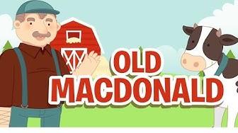 Old MacDonald Had a Farm • Nursery Rhymes Song with Lyrics • Animated Cartoon for Kids