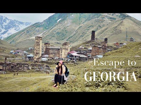 🇬🇪格魯吉亞 EP.7 | 高加索4天徒步之旅達成✔️迷路走進樹林🌲雪山🗻冰川❄️景色盡收眼底
