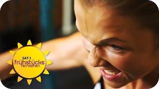 Sophia Thiel: Vom Moppel zum Muskelpaket | SAT.1 Frühstücksfernsehen