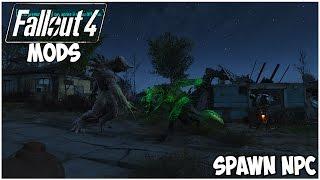 Fallout 4 Mods PS4 ITA - Spawn NPC