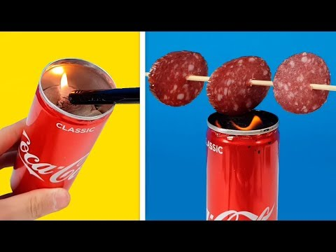 10 Life Hacks with a Can of Coca Cola
