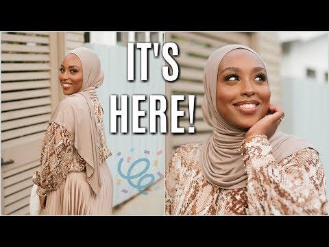 MY HUGE ANNOUNCEMENT + Everyday Hijab Tutorial! | Aysha Harun thumbnail