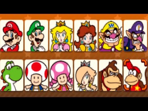 Mario Party Star Rush - All Characters