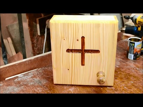 Wooden cabinet for medicine