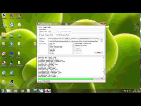 How to flash micromax q400 by umt qcfire video