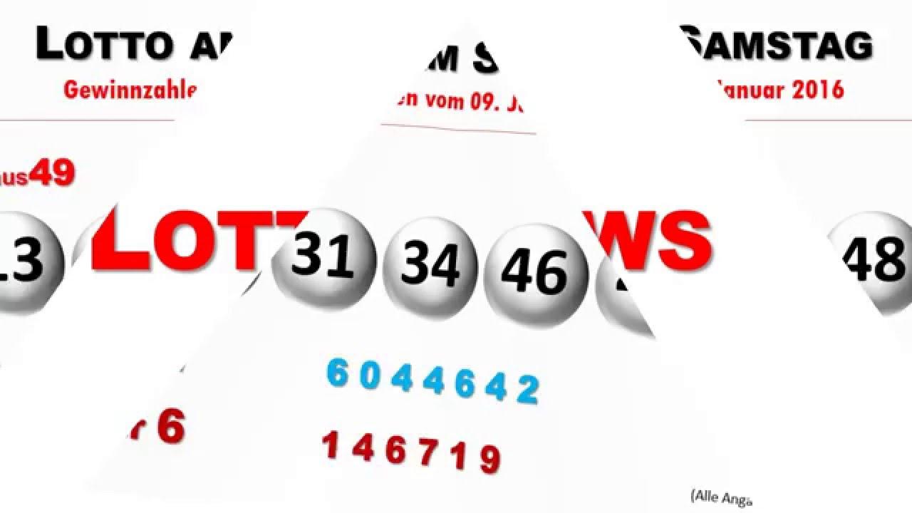 lottozahlen heute samstag uhrzeit