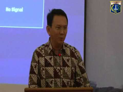 29 Apr 2014 Wagub Basuki T. Purnama membuka kegiatan Rakerda TKPK