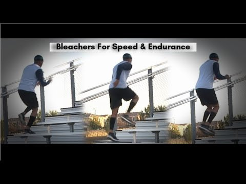 Bleacher/Stair Running For Speed, Power, & Endurance!
