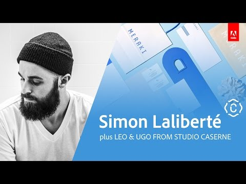 Graphic Design with Simon Laliberte and Studio Caserne - Live 1/3
