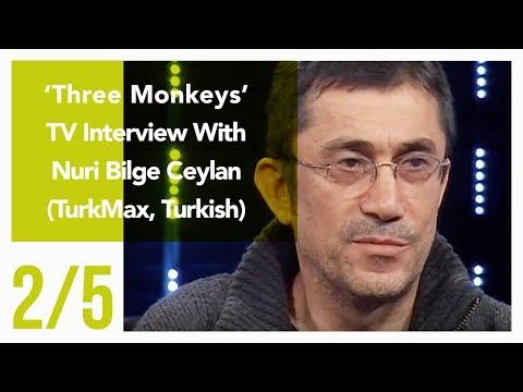 Three Monkeys - TV Interview With Nuri Bilge Ceylan 2/5 (TurkMax, Turkish)