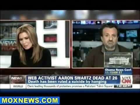 Anonymous Hacks MIT Website In Honor Of Aaron Swartz (January 14, 2013)