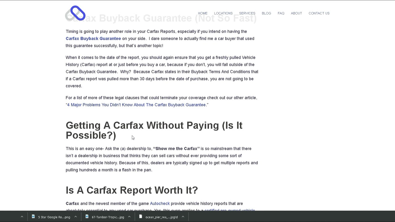 How To Get A Free Carfax Report (Answered)