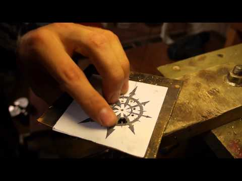 How to make a Warhammer Chaos Star Pendant