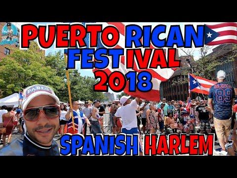 PUERTO RICAN FESTIVAL 2018 | EL BARRIO | SPANISH HARLEM NYC
