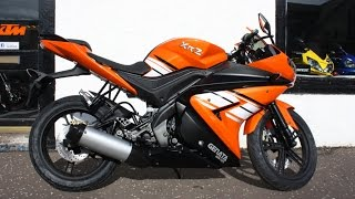 Genata XRZ 125cc Sports Bike - Orange