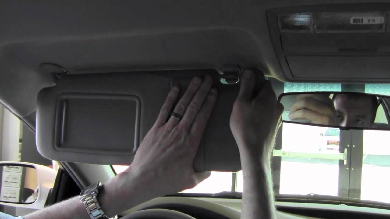 2011 Toyota Camry Sun Visors How To By Toyota City