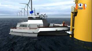 Crew Transfer Vessel - Mobimar 18 Wind
