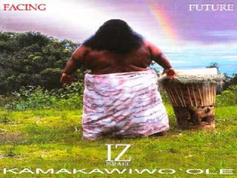 Israel Kamakawiwoole    Over The Rainbow  What A Wonderful World  Medley