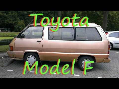Обзор Toyota Model F (Town Ace) 1989.