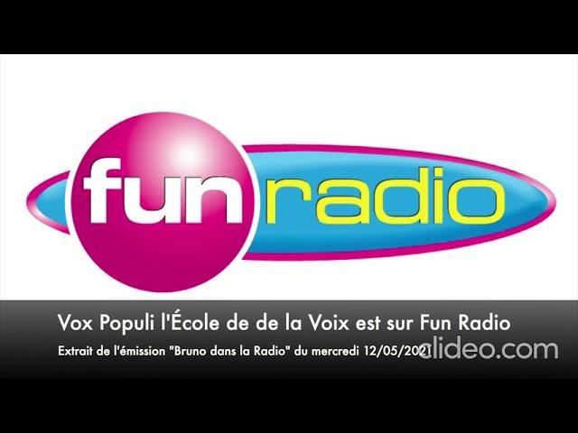 Vox Populi l'Ecole de la Voix sur Fun Radio