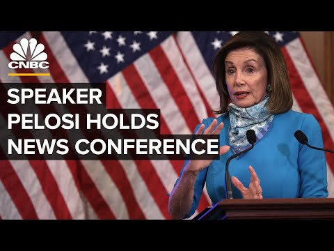 House Speaker Pelosi holds news conference as Biden's lead endures — 11/12/2020