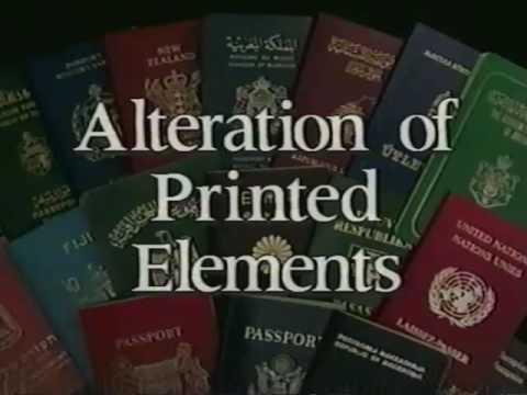 Passport Examination Techniques