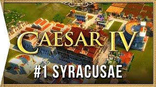 Caesar IV ► Mission 1 Syracusae - Classic City-building Nostalgia [HD Campaign Gameplay]