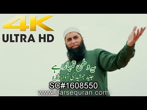 "(4K)(NEW) ""Ye Watan Tumhara Hai"" - Solo Track By Junaid Jamshed"
