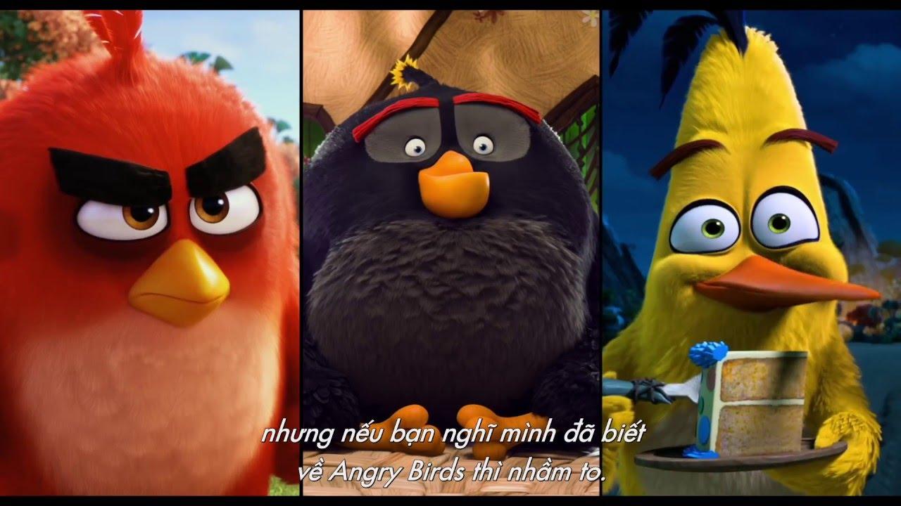 [Trailer] Angry Birds - Những chú chim cáu giận - Phim hot 2016