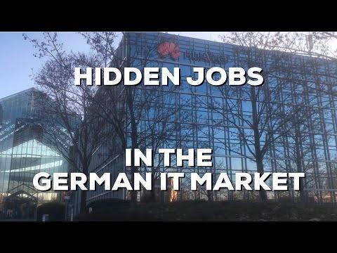 Hidden Jobs in German IT Industry - Hidden Job Market - Verdeckter Stellenmarkt