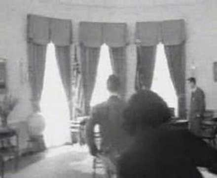 JFK in the oval office - YouTube