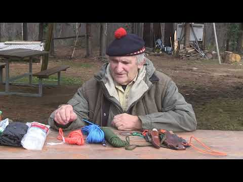 Survival Knives at Winter Camping Symposium 2017