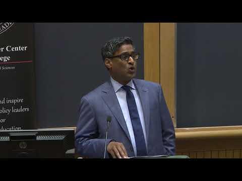 """Character in Politics,"" Ramesh Ponnuru, Visiting Fellow, AEI"