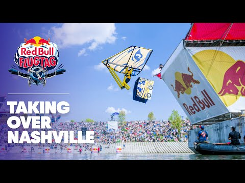 What vehicle would you build? | Red Bull Flugtag Nashville 2017