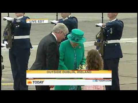 ROYAL CLONE DOUBLES GO TO IRELAND - NOT ELIZABETH & PHILIP!