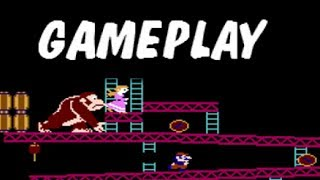 Donkey Kong (NES) - Gameplay