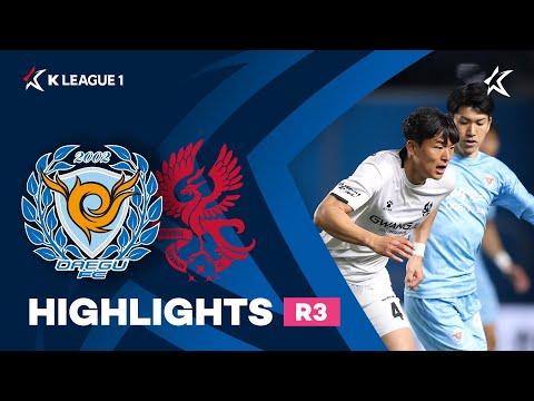Daegu Gwangju FC Goals And Highlights