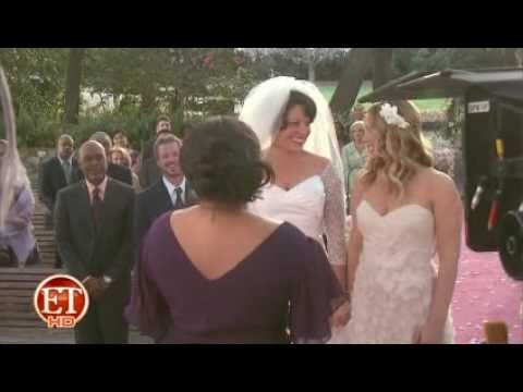 Wedding Bells Ring on 'Grey's'   BTS footage of