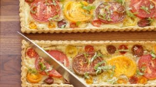Beth's Easy Tomato Tarts (inspired By The Audible App!)