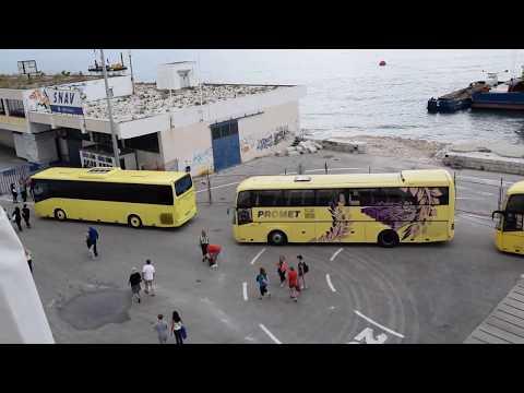 Split Croatia Cruise Port & Jadrolinija Ferry