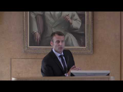 Macron: Reforging Transatlantic Bonds