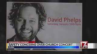 400+ attend concert in Sampson County church amid COVID-19 pandemic