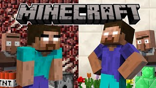 One of The Minebox's most viewed videos: If Herobrine Had A Brother - Minecraft Animation