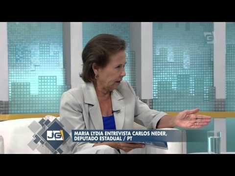 Maria Lydia Entrevista Carlos Neder, Deputado Estadual/PT