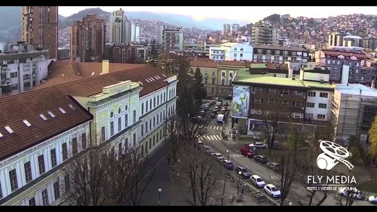 Grad Užice - Snimak iz vazduha - YouTube