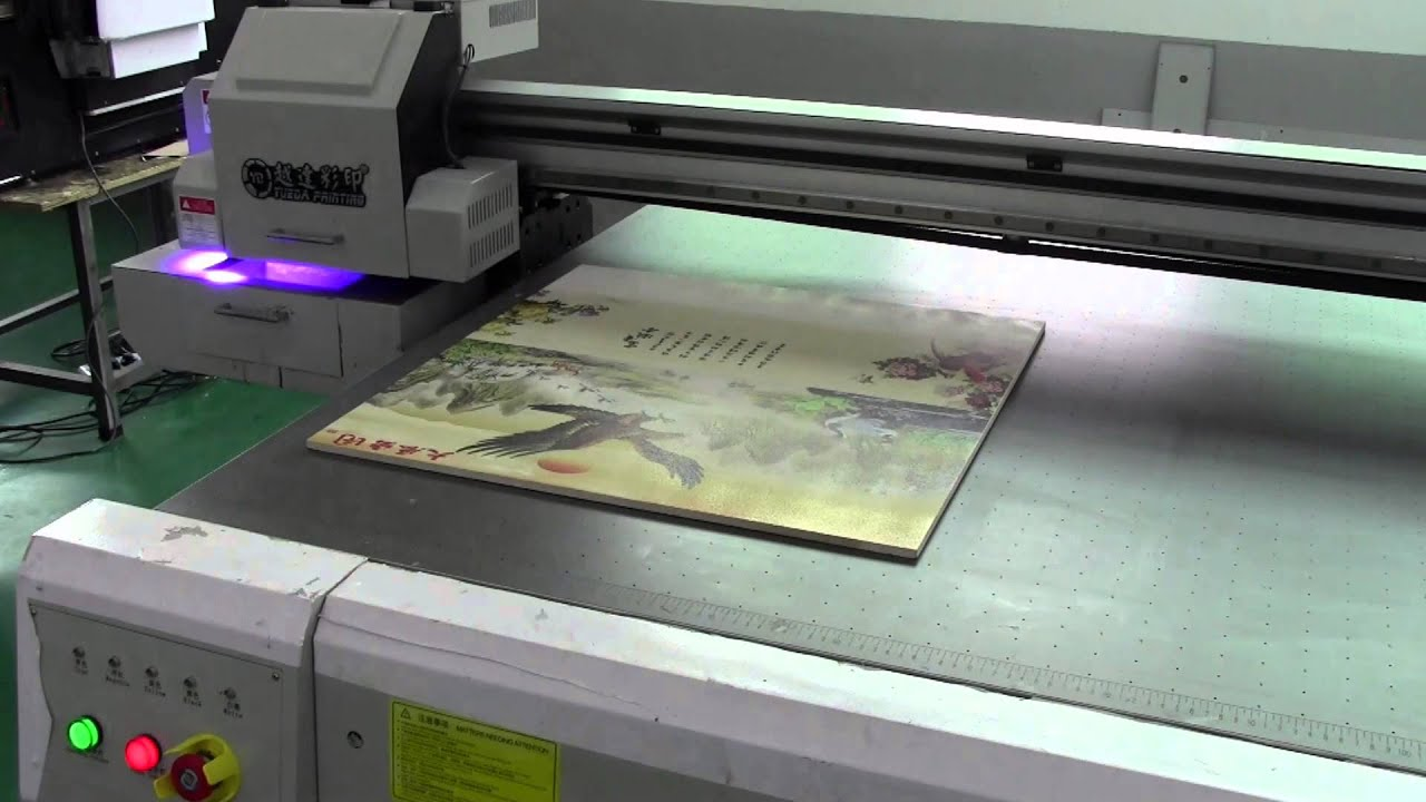 Ceramic tile uv flatbed printer factory from shenzhen china youtube dailygadgetfo Images