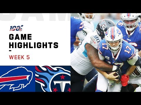 Bills vs. Titans Week 5 Highlights | NFL 2019