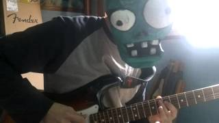 Robot zombie rock - Daft Punk guitar cover part 1