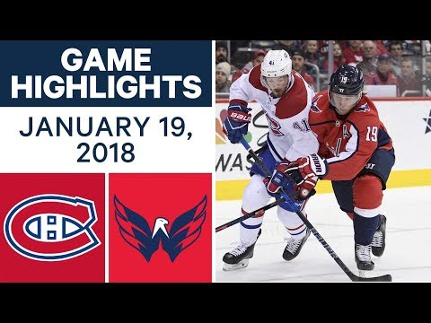 NHL game in 4 minutes: Canadiens vs. Capitals